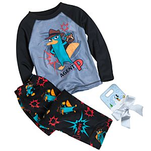 Agent P Pajamas Gift Set for Boys -- 2-Pc.