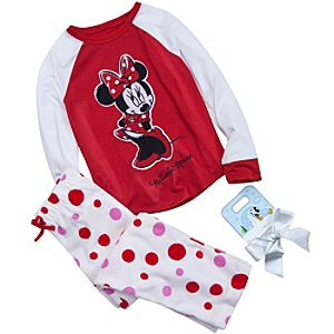 Minnie Mouse Pajamas Gift Set for Girls -- 2-Pc.