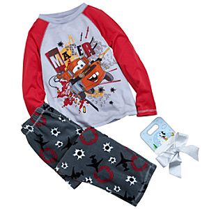 Tow Mater Pajamas Gift Set for Boys -- 2-Pc.