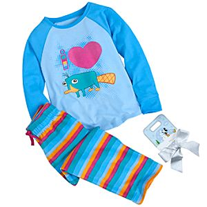 Perry the Platypus Pajamas Gift Set for Girls -- 2-Pc.