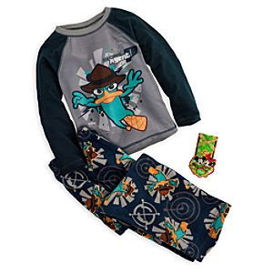 Agent P Sleep Set for Boys