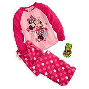 Minnie Mouse Sleep Set for Girls