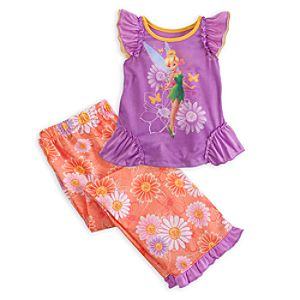 Tinker Bell Nightshirt and Pants Sleepwear Set for Girls