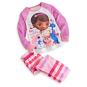 Doc McStuffins Raglan Pajama Set for Girls