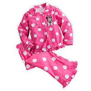 Minnie Mouse Clubhouse Pajama Set for Girls - Holiday - Personalizable