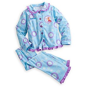 Anna and Elsa Pajama Set for Girls - Holiday - Personalizable