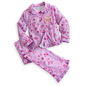 Rapunzel Pajama Set for Girls - Holiday - Personalizable