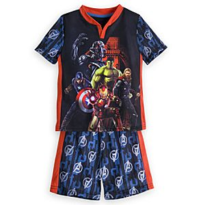Marvels Avengers: Age of Ultron Short Sleep Set for Boys