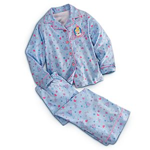 Cinderella Pajama Set for Girls - Personalizable
