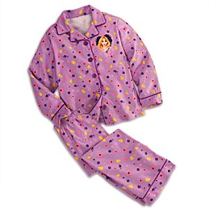 Rapunzel Pajama Set for Girls - Personalizable