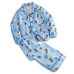 Mickey Mouse Pajama Set for Boys
