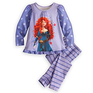 Merida Sleep Set for Girls
