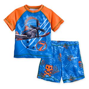 Planes PJ Pal Shorts Set for Boys