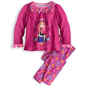 Anna Sleep Set for Girls - Frozen