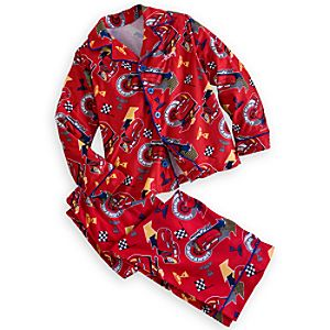 Lightning McQueen Pajama Set for Boys - Personalizable