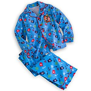 Jake and the Never Land Pirates Pajama Set for Boys - Personalizable