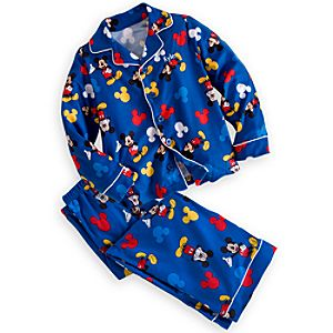 Mickey Mouse Pajama Set for Boys - Personalizable
