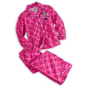 Minnie Mouse Pajama Set for Girls - Personalized