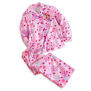 Sofia Pajama Set for Girls - Personalizable