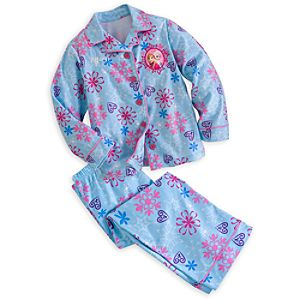 Anna and Elsa Pajama Set for Girls - Frozen - Personalizable