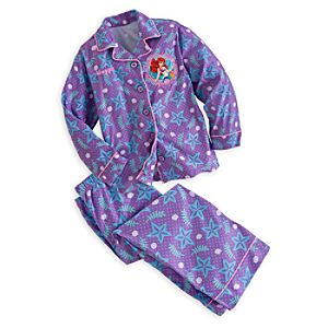 Ariel Pajama Set for Girls - Personalizable
