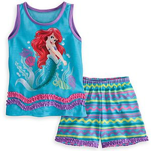Ariel Pajamas Sleep Set for Girls