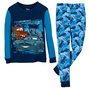 Cars 2 Finn McMissile and Mater PJ Pal for Boys