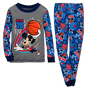 All-Star Basketball Mickey Mouse PJ Pal for Boys