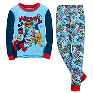 Comic Mickey Mouse and Friends PJ Pal for Boys