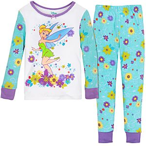 Flower Tinker Bell PJ Pal for Girls