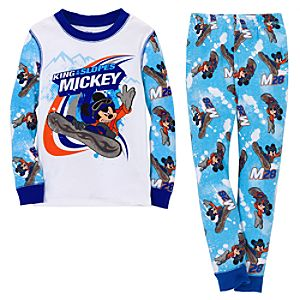 King of the Slopes Mickey Mouse PJ Pal for Boys