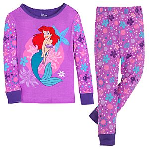 Purple Ariel PJ Pal for Girls