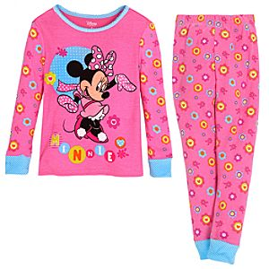 Winter Minnie Mouse PJ Pal for Girls