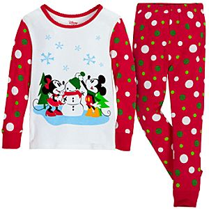 Share the Magic Minnie and Mickey Mouse PJ Pal for Girls