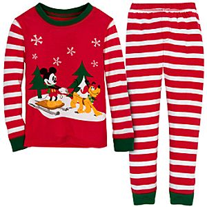 Share the Magic Pluto and Mickey Mouse PJ Pal for Boys