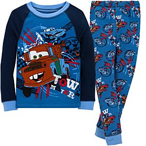 Cars 2 Tow Mater PJ Pal for Boys