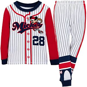 Baseball Mickey Mouse PJ Pal for Boys