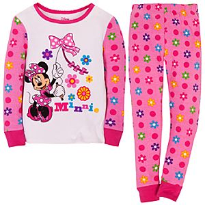 Kite-Flying Minnie Mouse PJ Pal for Girls