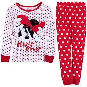 Polka Dot Minnie Mouse PJ Pal for Girls