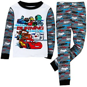 Track Burning Action Cars 2 PJ Pal for Boys