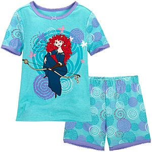 Short Merida PJ Pal for Girls -- 2-Pc.