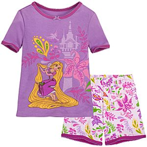 Short Rapunzel PJ Pal for Girls