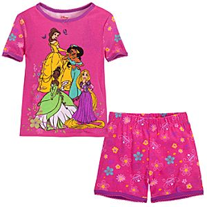 Short Disney Princess PJ Pal for Girls