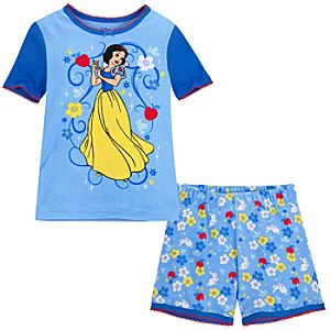 Short Snow White PJ Pal for Girls