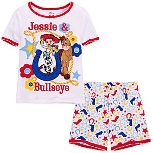 Short Toy Story Jessie and Bullseye PJ Pal for Girls