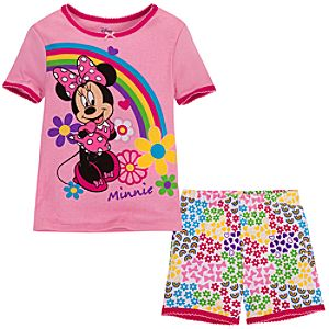 Short Minnie Mouse PJ Pal for Girls