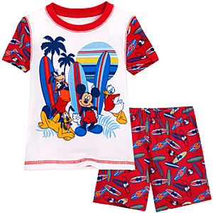 Short Mickey Mouse and Friends PJ Pal for Boys