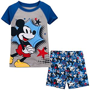 Short Mickey Mouse PJ Pal for Boys