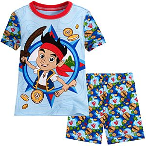 Short Jake and the Never Land Pirates PJ Pal for Boys
