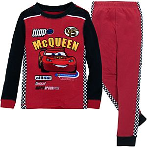 Cars 2 Lightning McQueen PJ Pal for Boys